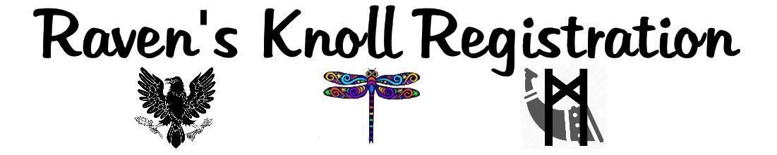 Raven's Knoll Registration